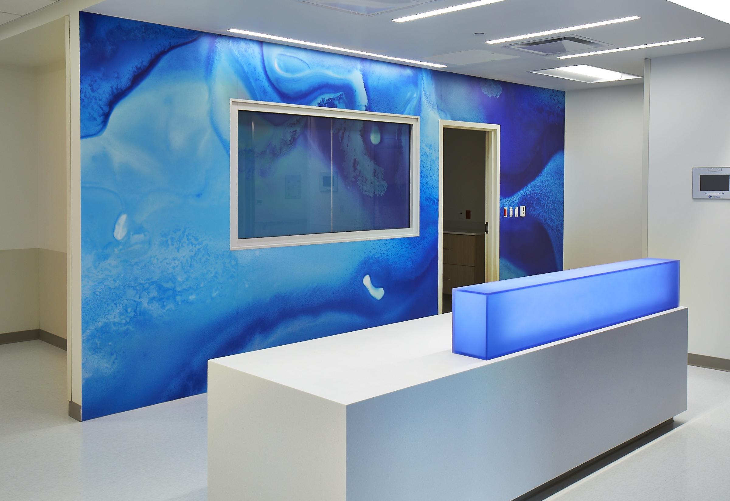 Hospital Desk – Aspex, High Impact Corner Guards